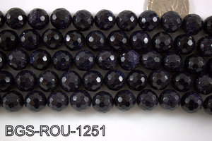 Blue Gold Stone Round 12mm BGS-ROU-1251