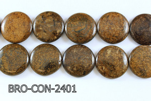 Bronzite Coin 24mm BRO-CON-2401
