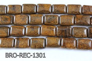 Bronzite Rectangle 13x18mm BRO-REC-1301