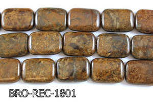 Bronzite Rectangle 18x25mm BRO-REC-1801