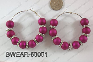 Basketball Wives Earring 60mm BWEAR-60001