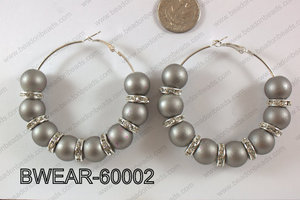 Basketball Wives Earring 60mm BWEAR-60002