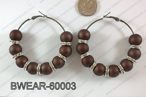 Basketball Wives Earring 60mm BWEAR-60003