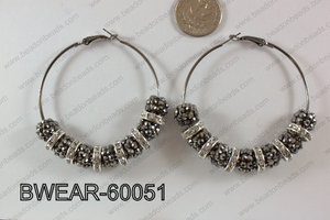 Basketball Wives Earring 60mm BWEAR-60051