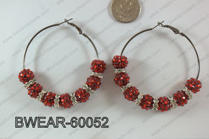 Basketball Wives Earring 60mm BWEAR-60052