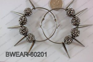 Basketball Wives Earring 60mm BWEAR-60201