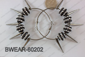 Basketball Wives Earring 60mm BWEAR-60202