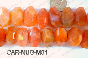 Carnelian Nugget Medium CAR-NUG-M01