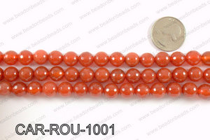 CARNELIAN FACETED ROUND 10mm CAR-ROU-1001