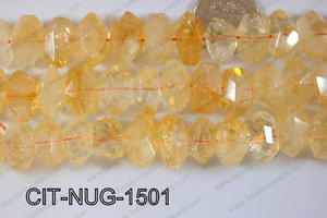 Citrine Nugget 10x15mm CIT-NUG-1501