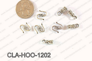 Clasp Hook 250g Bag 12mm CLA-HOO-1202