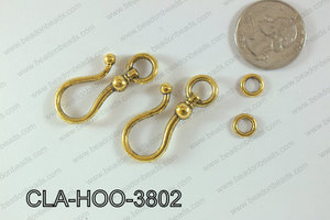 Clasp Hook 250g Bag 38mm CLA-HOO-3802