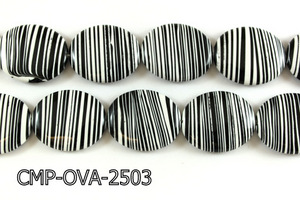 Composite Oval 25X30mm 16'' CMP-OVA-2503