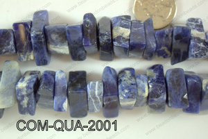 Composite Quartz Chips 10x20mm COM-QUA-2001