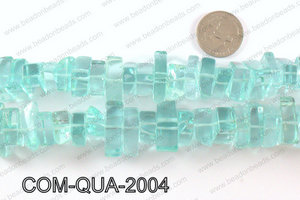 Composite quartz chips 10x20mmCOM-QUA-2004
