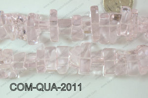 Composite Quartz Chips Pink 10-20mm COM-QUA-2011
