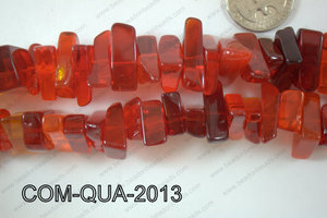Composite Quartz Chips Red 10-20mm COM-QUA-2013