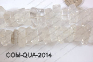 Composite Quartz Chips White 10-20mm COM-QUA-2014