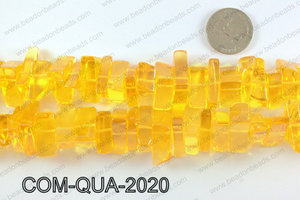 Composite quartz chips 10x20mmCOM-QUA-2020
