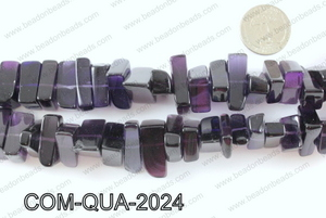 Composite quartz chips 10x20mmCOM-QUA-2024