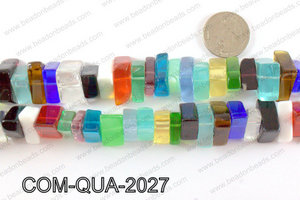 Composite quartz chips 10x20mmCOM-QUA-2027
