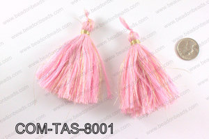 Thread tassels 90mm, PinkCOM-TAS-8001