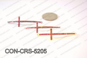 Sideway cross connector, Pink 15x52mm CON-CRS-5205