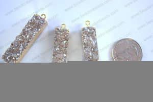 Druzy Connector 11x50MM  CON-DRU-5003