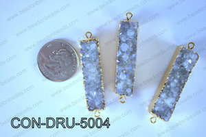 Druzy Connector 11x50MM  CON-DRU-5004