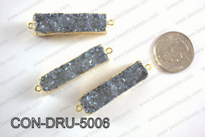Druzy Connector 11x50MM  CON-DRU-5006