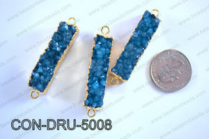 Druzy Connector 11x50MM  CON-DRU-5008