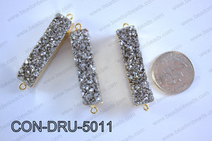 Druzy Connector 11x50MM  CON-DRU-5011