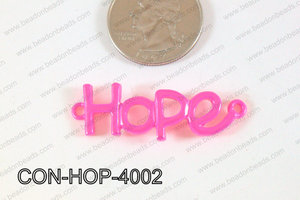 Hope Connector Hot Pink 13x40mm CON-HOP-4002