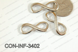 Sideway cross connector infinity 13x34mm CON-INF-3402