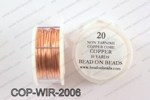 Non Tarnish copper core wrapping wire 20 gauge, CopperCOP-WIR-20