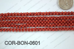 Coral Bone 6mm COR-BON-0601