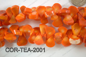 Coral Teardrop 10-20mm COR-TEA-2001
