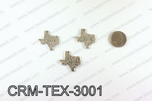 Texas Charms 30x31mm, Silver CRM-TEX-3001