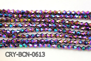 Angelic Crystal Faceted BiCone 6mm CRY-BCN-0613