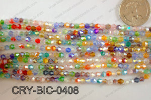 Angelic Crystal Bicone 4mm CRY-BIC-0408
