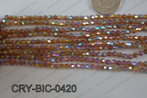 Angelic Crystal Bicone 4mm CRY-BIC-0420