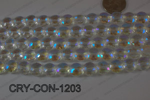 Angelic Crystal Coin Faceted 12mm CRY-CON-1203