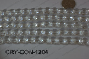 Angelic Crystal Coin Faceted 12mm CRY-CON-1204