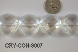 Angelic Crystal Coin 30mm CRY-CON-3007