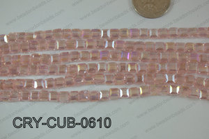 Angelic Crystals Cube 6mm CRY-CUB-0610