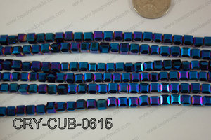 Angelic Crystals Cube 6mm CRY-CUB-0615