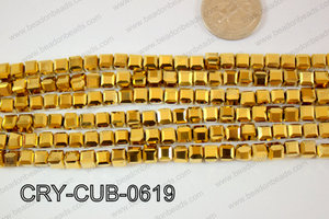 Angelic Crystals Cube 6mm CRY-CUB-0619