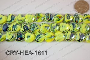 Angelic Crystal Heart 16mm CRY-HEA-1611