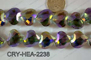 Angelic Crystal Abstract Heart 22mm CRY-HEA-2238
