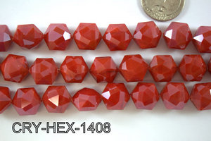 Angelic Crystal Hexagon 14mm 14'' CRY-HEX-1408